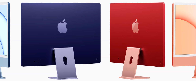 Apple komt met AirTags, kleurrijke iMacs en nieuwe M1-iPad Pro