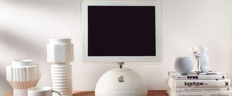 iMac G4 geüpgraded tot een iMac M1