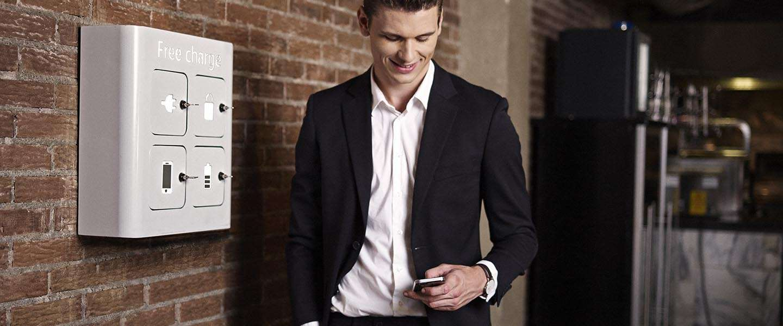 Implug - een handig oplaadpunt voor smartphones