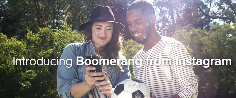 Instagram lanceert Boomerang, een nieuwe en leuke app voor korte video's