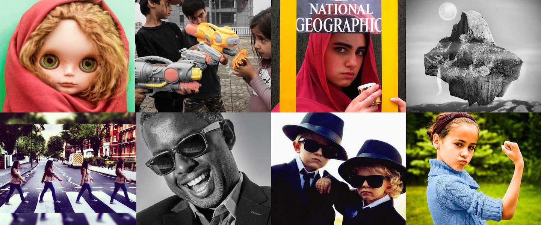 Iconische foto's nagemaakt met bijzondere twist