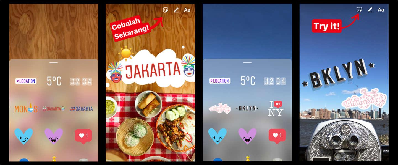 Instagram Geo Stickers: alweer een goed idee van Snapchat