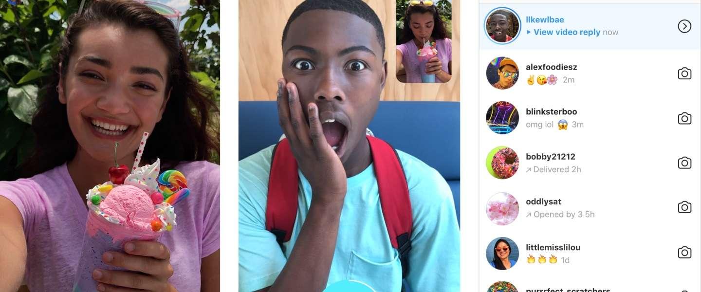 Instagram laat je nu reageren op een Story met foto of video
