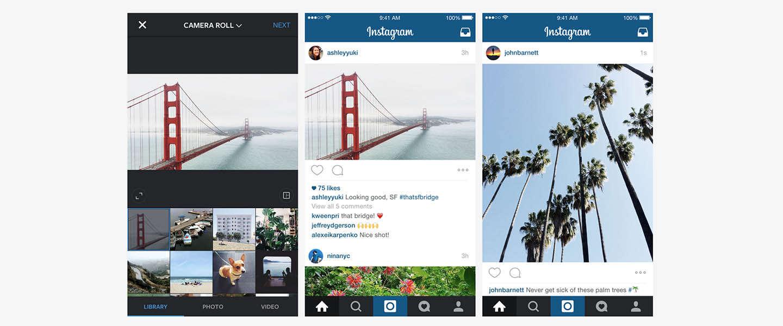 Instagram stapt af van alleen vierkante foto's