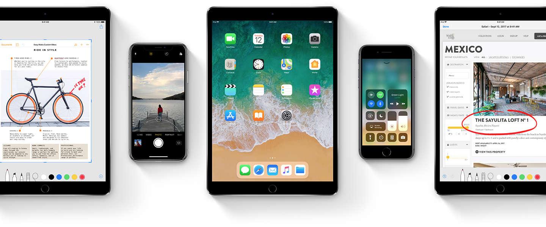 Apple maakt update iOS 11.1 beschikbaar
