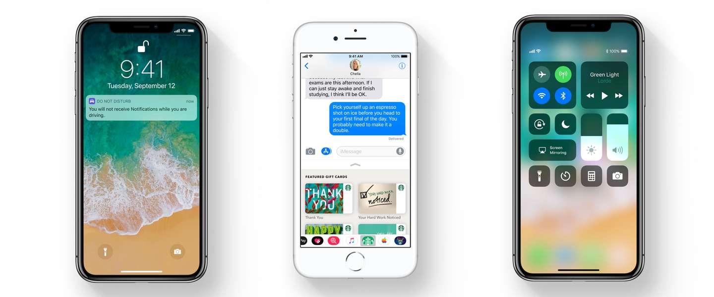 iOS 11 is vandaag uit: dit zijn de handigste nieuwe functies