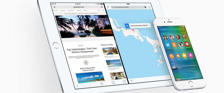 Bèta-versie iOS 9 van dichtbij bekeken