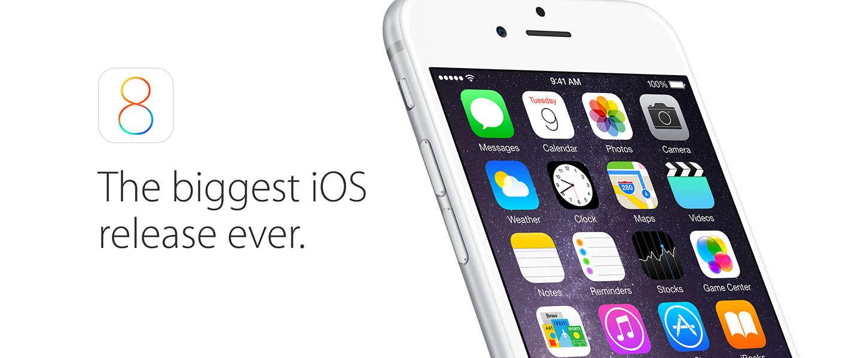 iOS 8.1 update nu beschikbaar