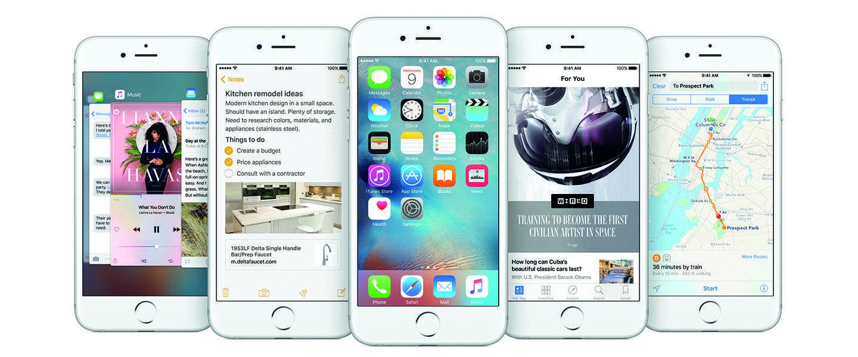 iOS 9 is vanaf 16 september beschikbaar