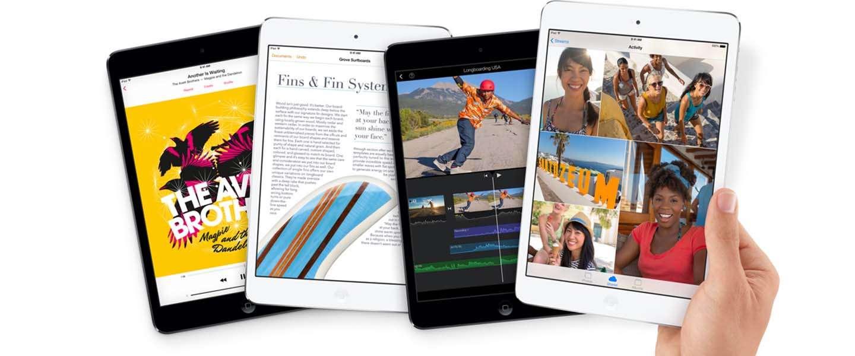 Leveranciers van Apple beginnen met productie nieuwe iPad