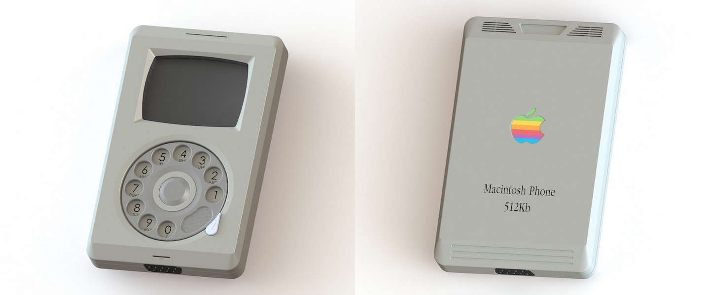Zo zou de iPhone er in 1984 hebben uitgezien