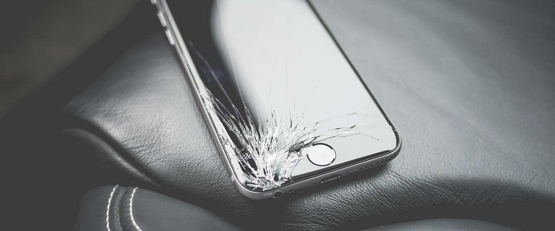Wonderbaarlijk Wat doe jij als je iPhone kapot is? WA-77