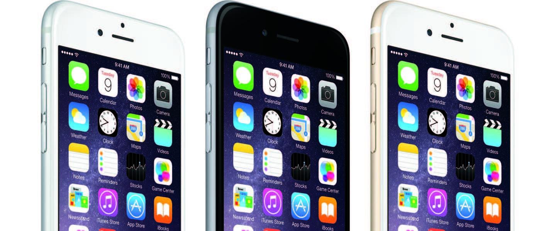 iPhone 6 en iPhone 6 Plus: Groter, dunner en sneller