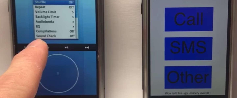 Kijk naar de eerste prototypes van iOS in actie