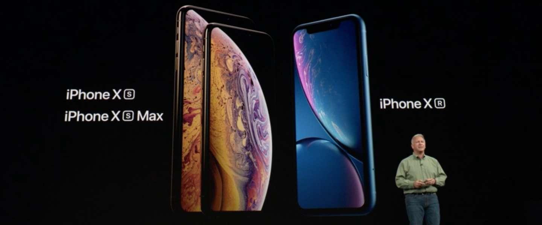 iPhone Xs, Xs Max en Xr verrassen niet op Apple's evenement