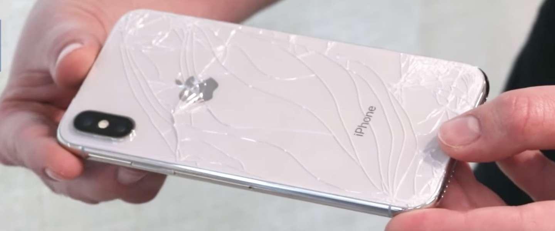 Valtest: de iPhone X kan helemaal niet tegen een stootje