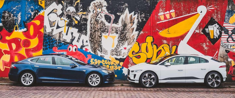 Jaguar I-PACE versus Tesla