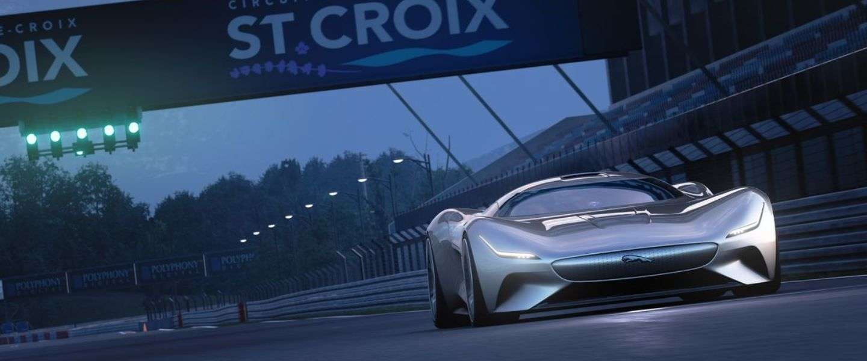 Jaguar komt met fantastische nieuwe bolide... in Gran Turismo