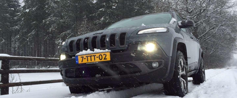 Jeep Cherokee Trailhawk, SUV voor eigenwijze mannen en vrouwen