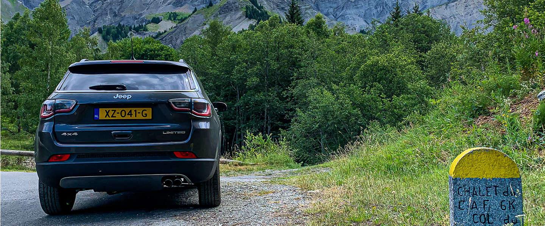 De stoere reisauto die Jeep Compass Limited heet