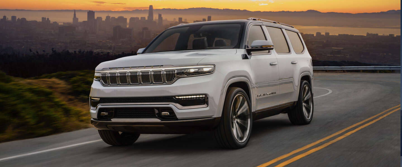 Jeep Grand Wagoneer concept, de nieuwe definitie van een grote SUV