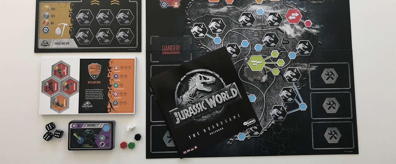 Bouw nu je eigen Jurassic World met dit nieuwe bordspel