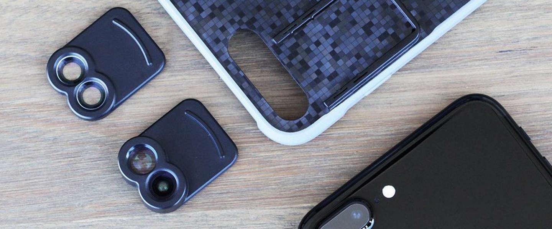 Kamerar maakt eerste dubbele voorzetlens voor iPhone 7+