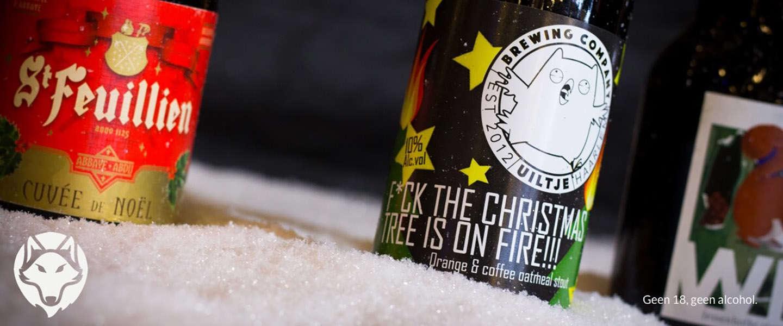 Bij de feestdagen hoort natuurlijk ook een heerlijk biertje