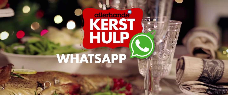 AllerHande biedt hulp tijdens de kerst via WhatsApp