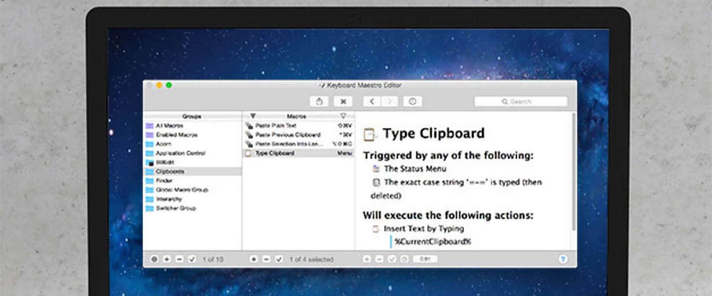 DC Deals: Keyboard Maestro voor Mac