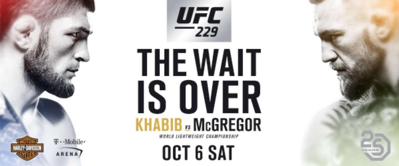 Vegas is on fire: nasleep McGregor vs. Nurmagomedov is waanzin