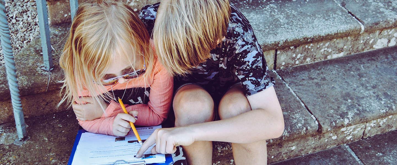Online lesstof oefenen wordt voor kinderen steeds gemakkelijker