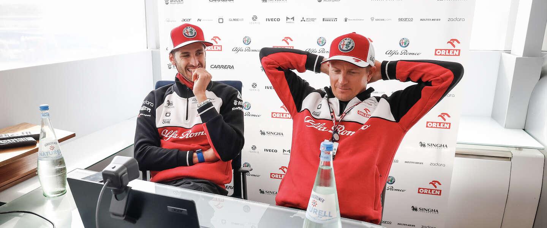 Dit wist je nog niet over Kimi Räikkönen en Antonio Giovinazzi