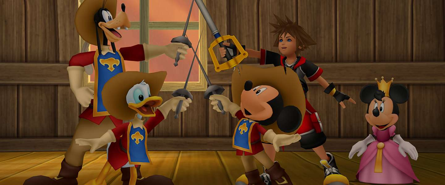 Kingdom Hearts HD 2.8 Final Chapter Prologue: leeg koninkrijk