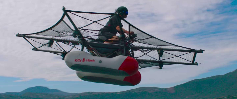 Google-oprichter Larry Page heeft ook een vliegende auto