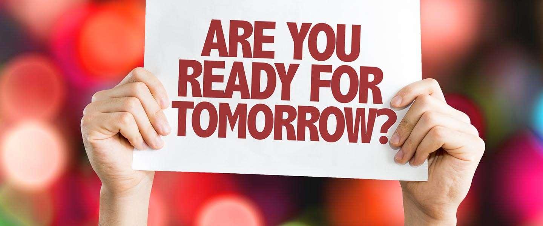 Zijn we klaar voor de toekomst?