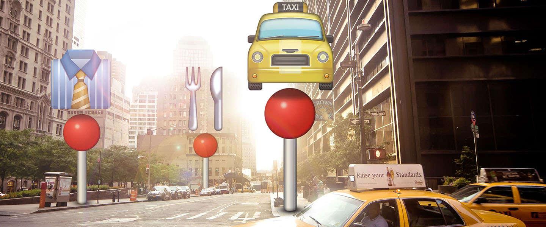 KLM gaat je de weg wijzen met Emoji
