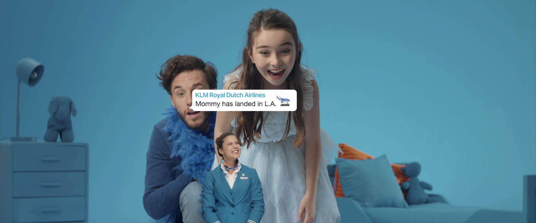 KLM lanceert Family Updates op WhatsApp voor vrienden en familie