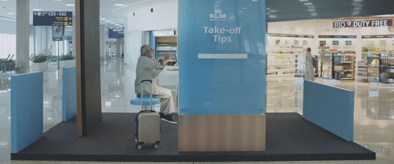 KLM Take-Off Tips, praten met mensen over je reisbestemming