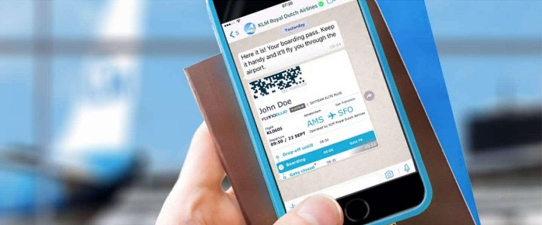 KLM komt met zakelijk WhatsApp-account