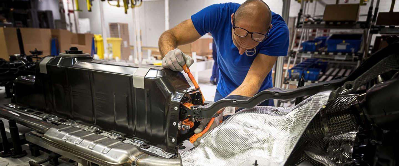Elektrische modellen Volvo zijn geverifieerd door blockchain