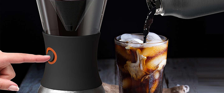 Overal koffie brouwen met je eigen draagbare koffiezetter