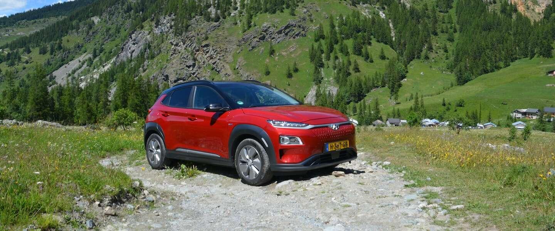 Rijden en werken in de Hyundai Kona Electric