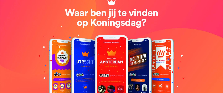 Koningsdag-app met informatie over alle grote steden