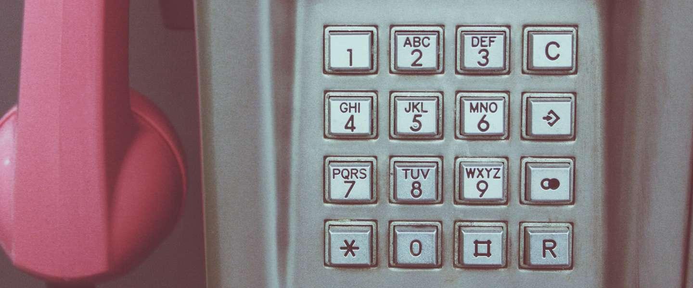 Alarmnummer 112 niet bereikbaar