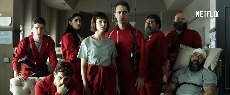 La Casa de Papel gaat verder: dit is de trailer van seizoen 2