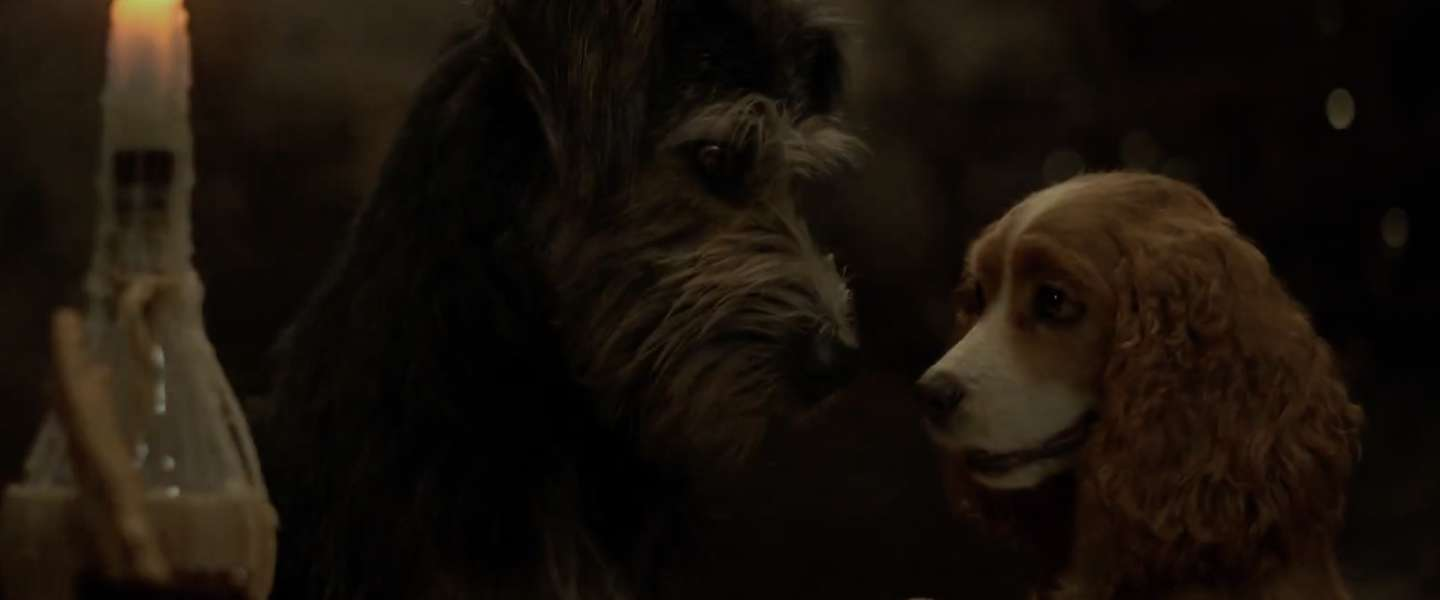 Eerste trailer van remake 'Lady and the Tramp' is uitgebracht