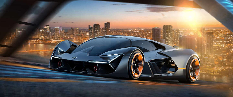 Lamborghini komt met eerste elektrische supercar