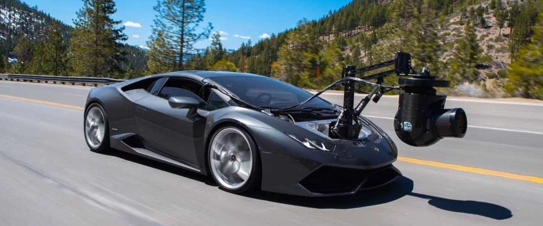 Deze Lamborghini Huracam is de snelste camerawagen ooit