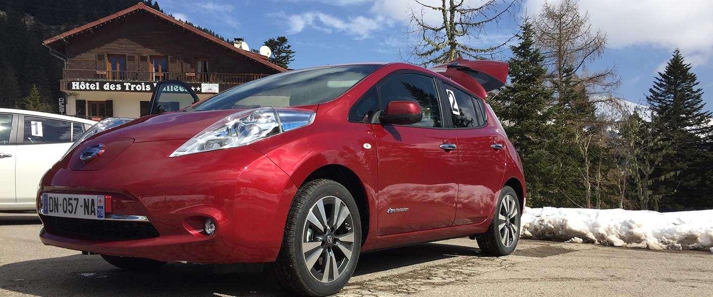 De Turini Challenge met een Nissan Leaf